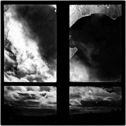 Ayr Road: Window