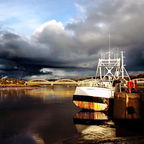Kirkcudbright Harbour by Coigach