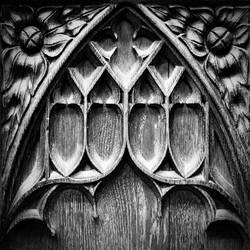 Bath Abbey: pew detail by Coigach
