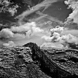 Kirkcudbright: sky+wall by Coigach