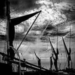Maldon Barge Masts