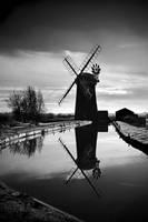 Windmill - Horsey, Norfolk by Coigach