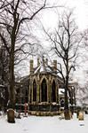 Winter church + graveyard