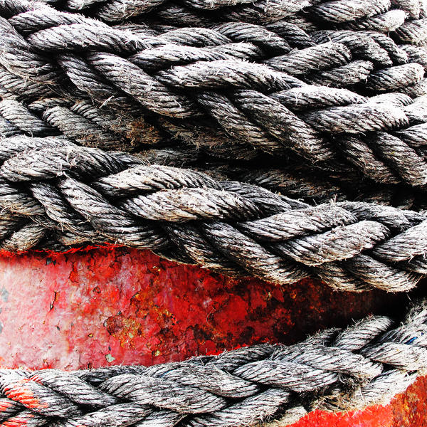Rope + Mooring Post by Coigach