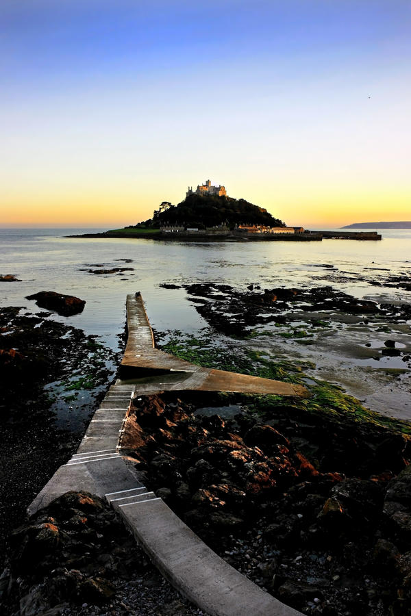St. Michaels Mount at sunset by Coigach