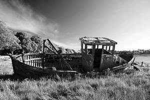 Monochrome Wreck by Coigach