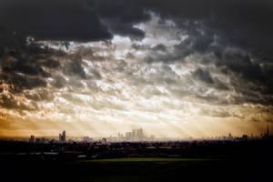 London: Docklands Skyline by Coigach