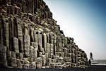 Scale 2: Reynisfjara - volcanic basalt sculpture by Coigach