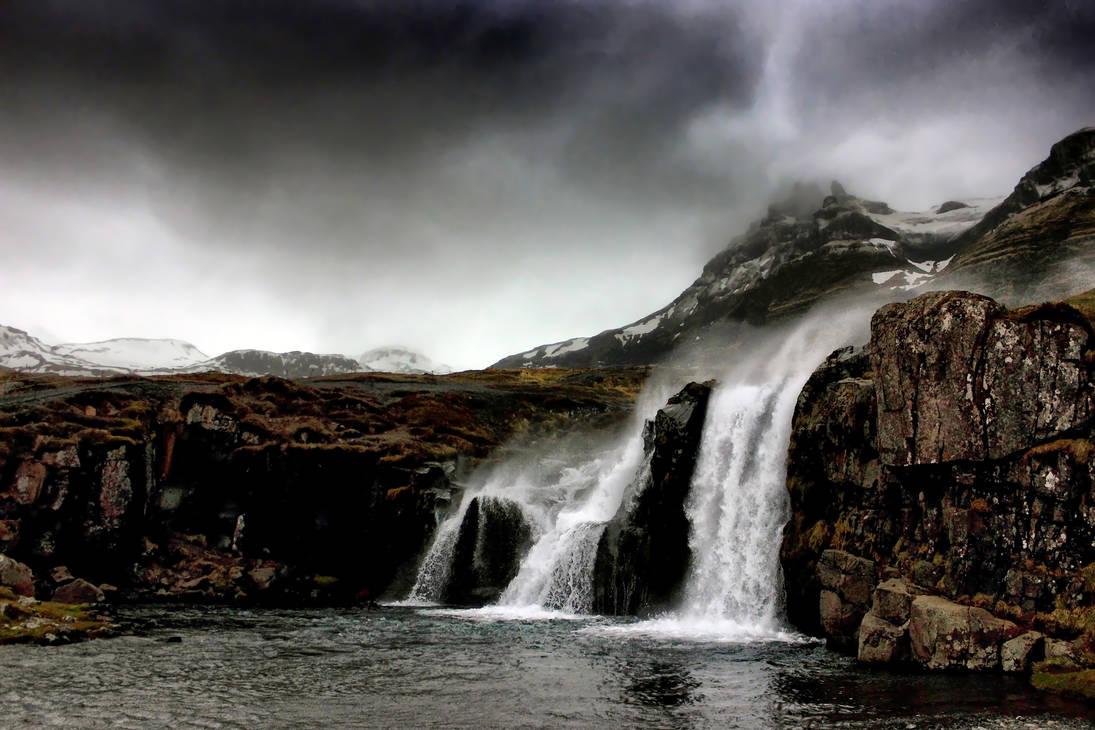 Storm Over Kirkjufellsfoss