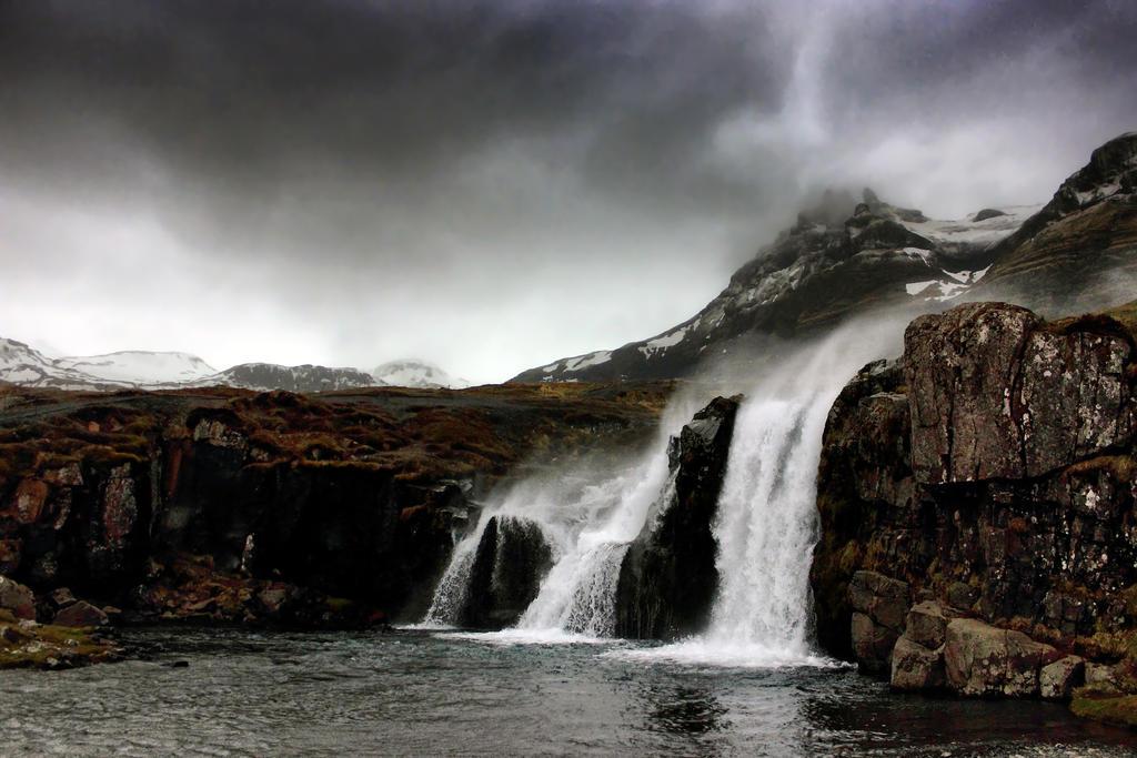 Storm Over Kirkjufellsfoss by Coigach