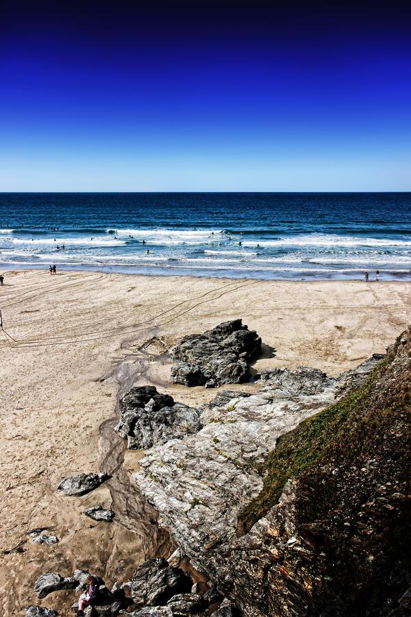 Porthtowan Surf by Coigach