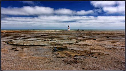 Wasteland Panorama - Orford Ness by Coigach