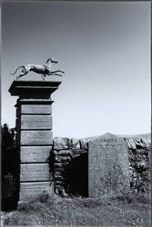 Gravestone, Greyhound, Gatepost by Coigach