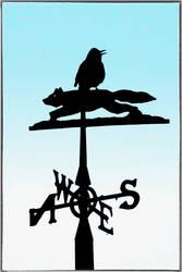 Blackbird+Weathervane by Coigach