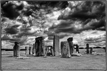 Stonehenge Monochrome by Coigach