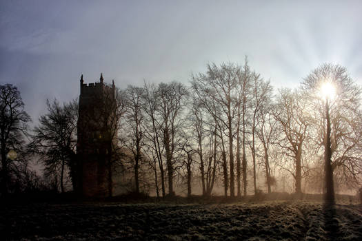 Church+Mist+Sunrise - A New Light