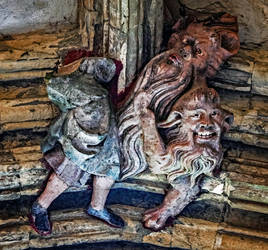 Roof Boss - Norwich Cathedral Cloister