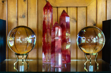 Spheres and Obelisks