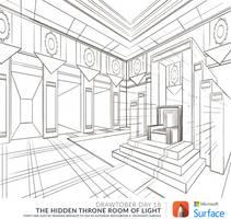 2014 Drawtober 18 - Gnome Throne of Light