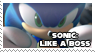Stamp: Sonic Like A Boss by Xyno76