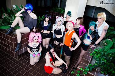 Sailor Moon Biker Gang