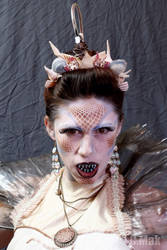 Angler Fish Mermaid Makeup