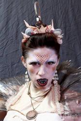 Angler Fish Mermaid Makeup by darkelf205