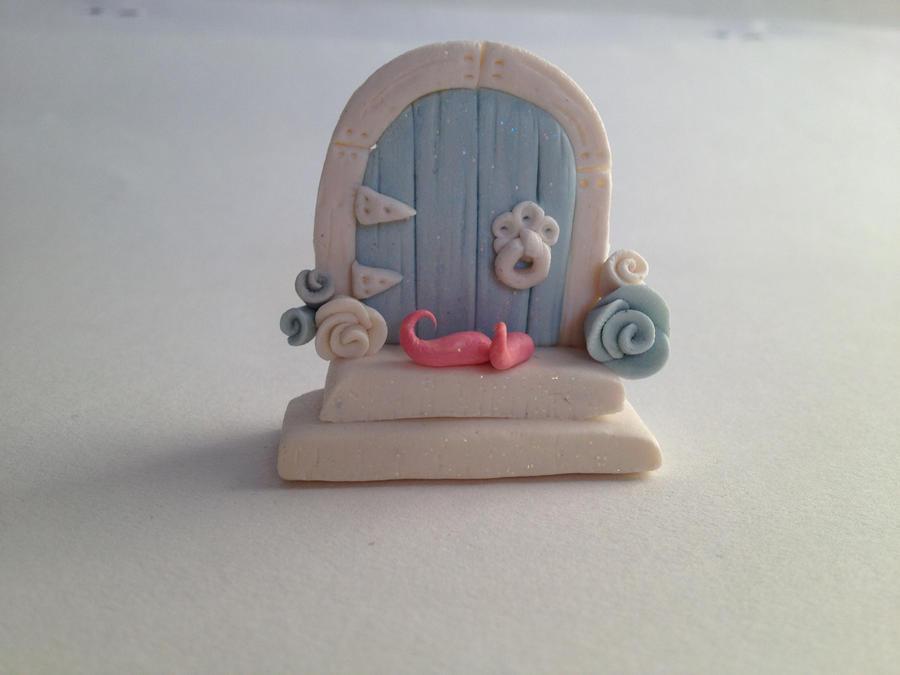 Polymer Clay Fairy Door by charming-chloe ... & Polymer Clay Fairy Door by charming-chloe on DeviantArt