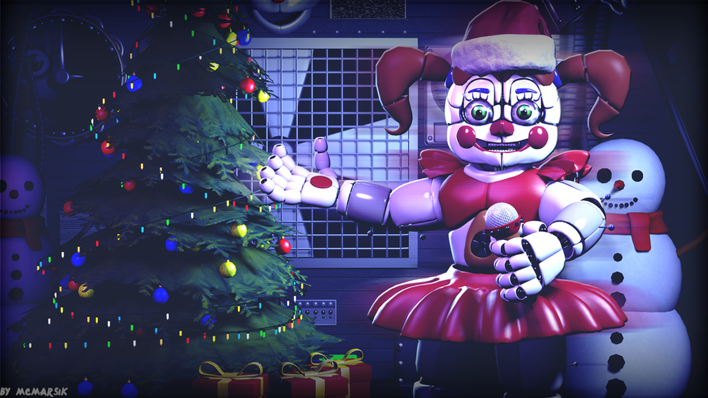 SFM FNAF)Merry Christmas and Happy New Year by MCMARSIK on DeviantArt