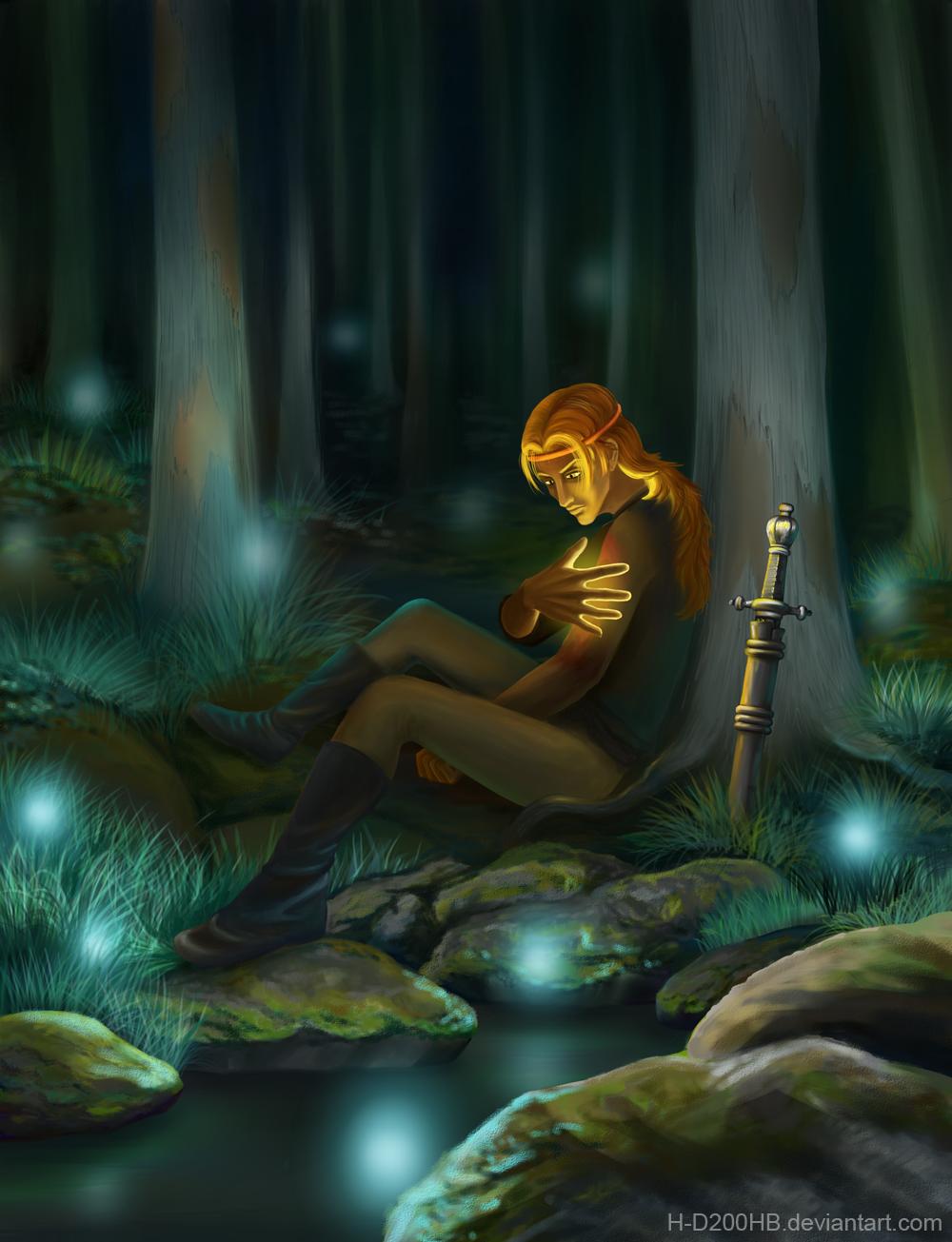 Night Healing by Ashdei-san