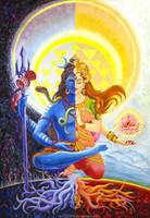 Ardhanarishvara by Ashdei-san