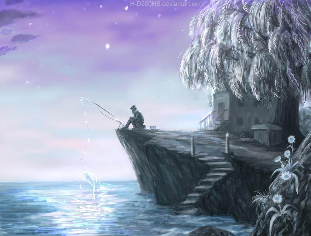 Fisherman by Ashdei-san