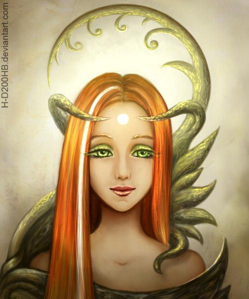 Druid witch by Ashdei-san
