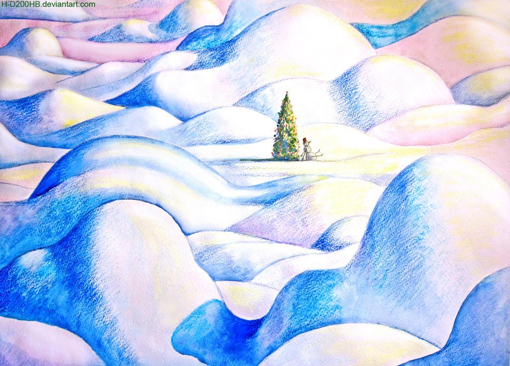 Snowman by H-D200HB