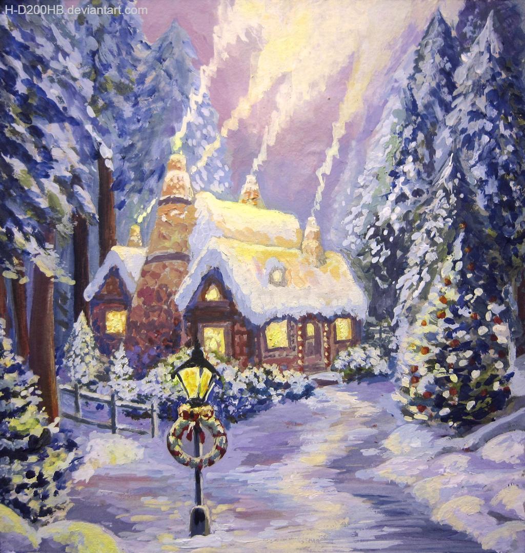 Snow House by Ashdei-san