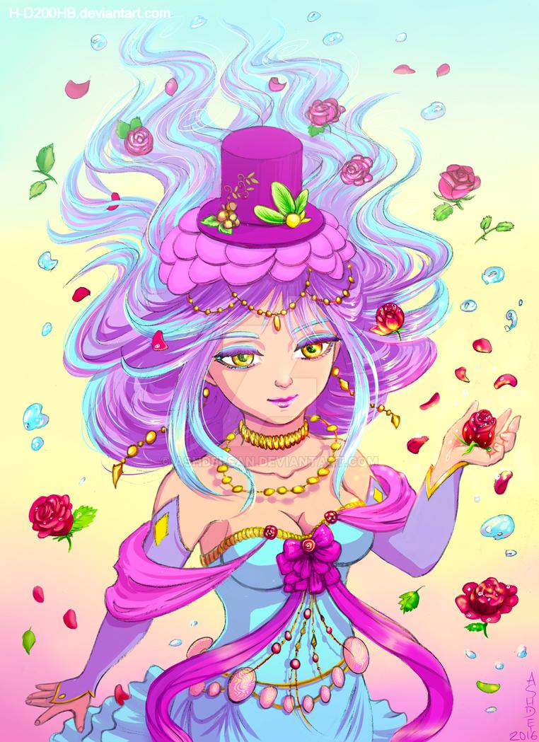 Little Alchemist OC commision by Ashdei-san