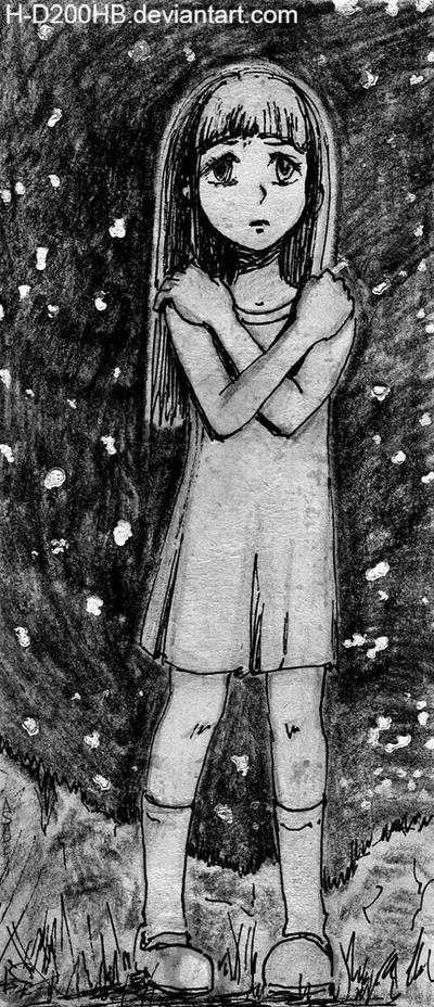Inktober: Scared by Ashdei-san