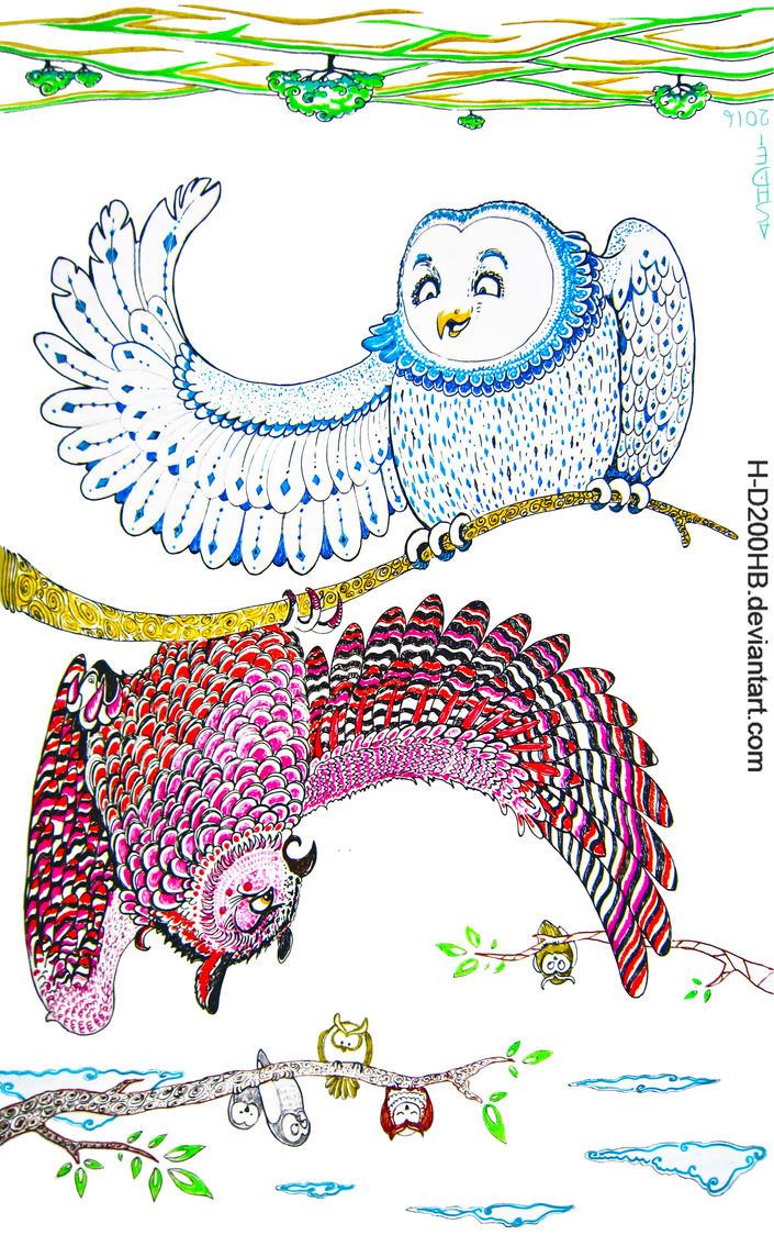 Angry bird, troll bird... by Ashdei-san