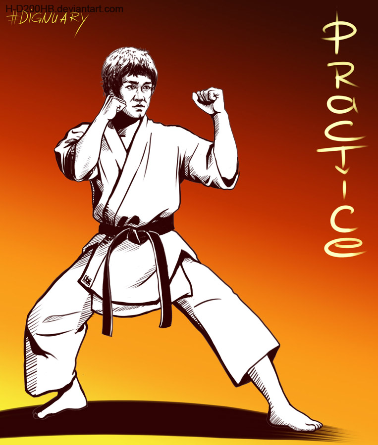 Bruce Lee by Ashdei-san