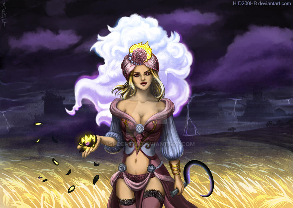Goddess of Time by Ashdei-san