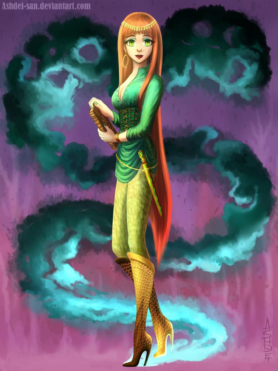 Definitely Slytherin by Ashdei-san