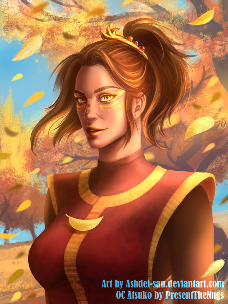 Autumn Is Coming [Commission] by Ashdei-san