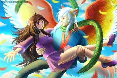 Fly and Smile by Ashdei-san