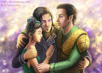 Family Reunion [Commisssion] by Ashdei-san