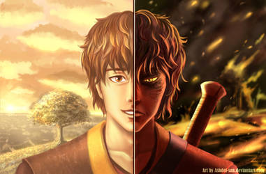 Fires Walk With Me - Zuko Fanart [Commission] by Ashdei-san