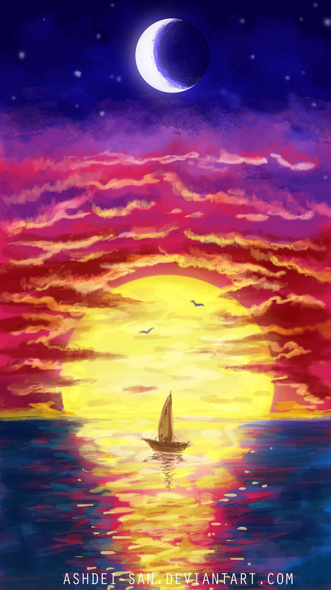 Sunset by Ashdei-san