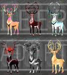 [OPEN!] 15$ SB Fantasy Deer Adoptable Auction by Ashdei-san