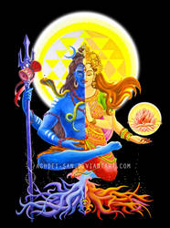Ardhanarishvara Shiva Shakti Halfman HalfWoman