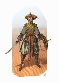 Persian Hero - Concept