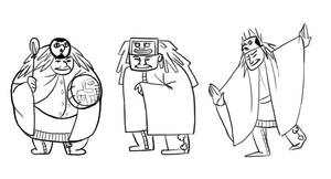 Chief Character Designs by MinorDiscrepancy